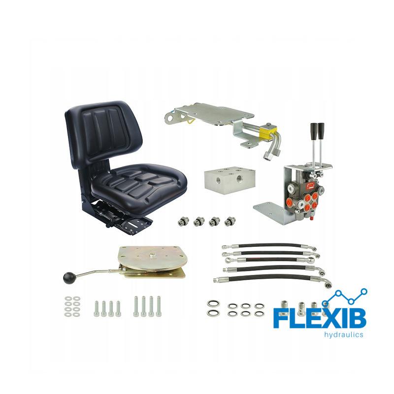 Hüdraulika komplekt jagaja 3 sektsiooni Traktorite ja rasketehnika hüdraulika Hüdraulika
