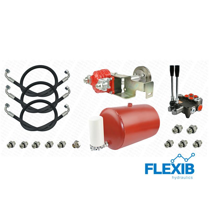 Hüdraulika komplekt Ursus C-360 32cm3  Kaasas jagaja, 30L paak, filter ja voolikud. Traktorite ja rasketehnika hüdraulika Hüdraulika