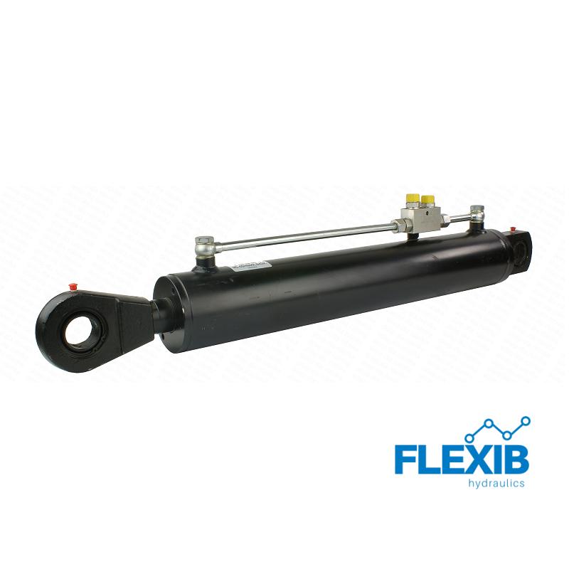 Hüdrosilinder 840mm: 500mm CJ2F-100/50/500, Koos turvaklapiga 100/50 Hüdrosilindrid 100/50 Hüdrosilindrid