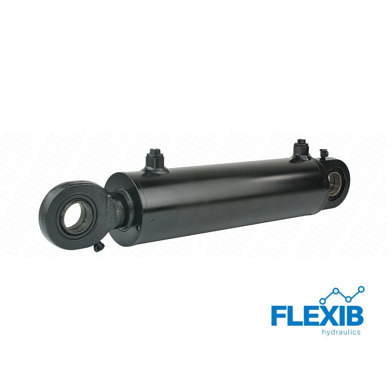 Hüdrosilinder, UGA CJ2F-80/45 / 240L L 460 U35W Hüdrosilindrid rotatsiooni klapiga Hüdrosilindrid