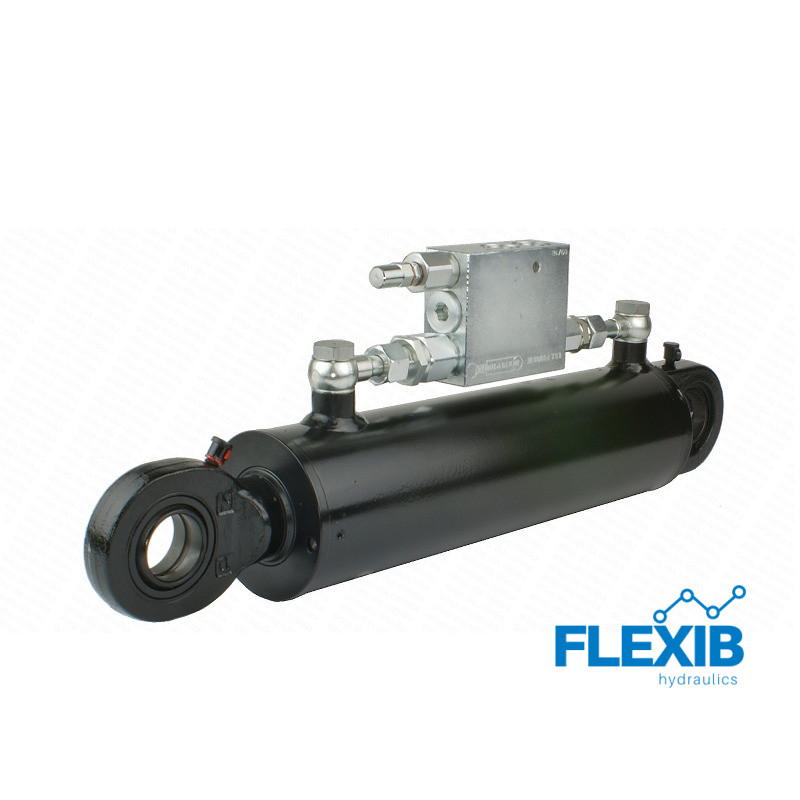 Hüdrosilinder, UGA CJ2F 80/45 / 240L 460 L U35W kaasas reguleerklapp CYM Hüdrosilindrid rotatsiooni klapiga Hüdrosilindrid