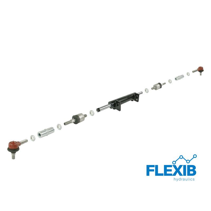 Hüdrosilinder .  2x100mm. + roolivardad Hüdraulilised roolivõimendid Hüdrauliline roolivõimendi