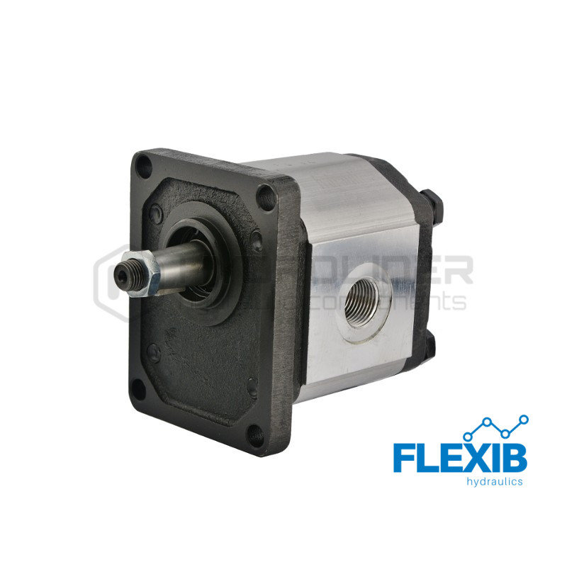 Hüdropump hammasrataspump  2.seeria 8cm3 / rev  (1500 rpm): 12L / min Rotatsioon: Parem 1.seeria hammasrataspumbad