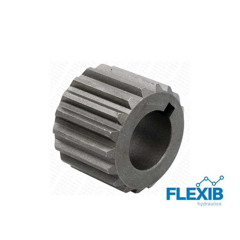 Ühendus sidur hüdropumba ja kordaja vahele: 2 seeria pumpadele 35×31 – 18 hammast Reduktorite ja kordistajate tarvikud Reduktorid ja kordistajad