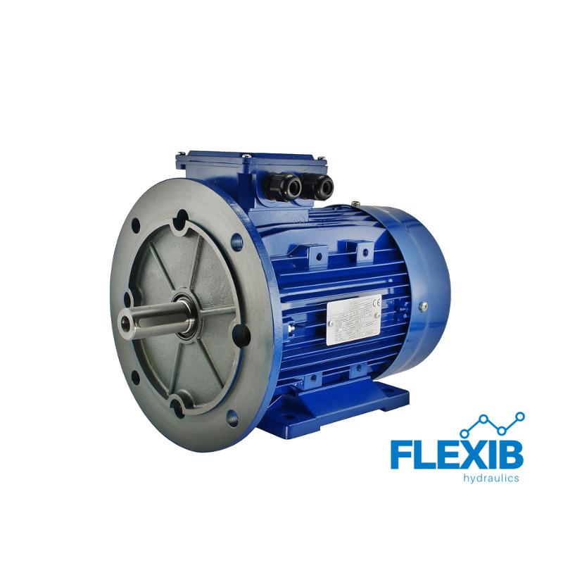 Elektrimootor kolmefaasiline 400 V Tüüp B132 Võimsus 7,5 kW Kiirus: 2920 p / min Võll: 38mm Koja flantsiga elektrimootorid 3 faasilised elektrimootorid 380V