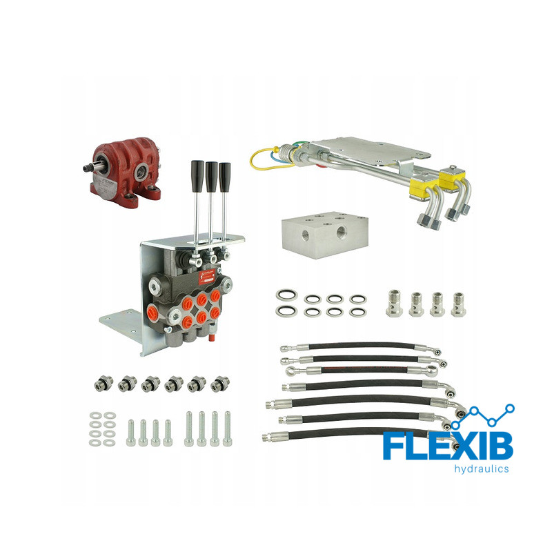 Hüdrauliline jagaja 46481002 Archimedes veoautodele C-360, C-360-3P + remondikomplekt Traktorite ja rasketehnika hüdraulika Hüdraulika