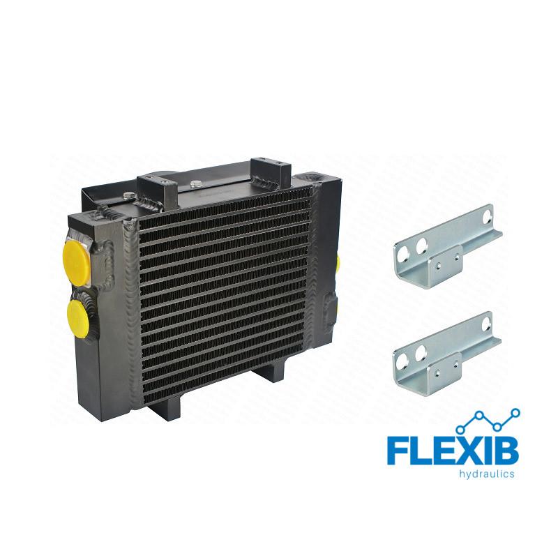 Õliradiaator ST50 ventilaator 24V ja kinnituspunktidega 24V jahutusega õliradiaatorid 24V jahutusega õliradiaatorid