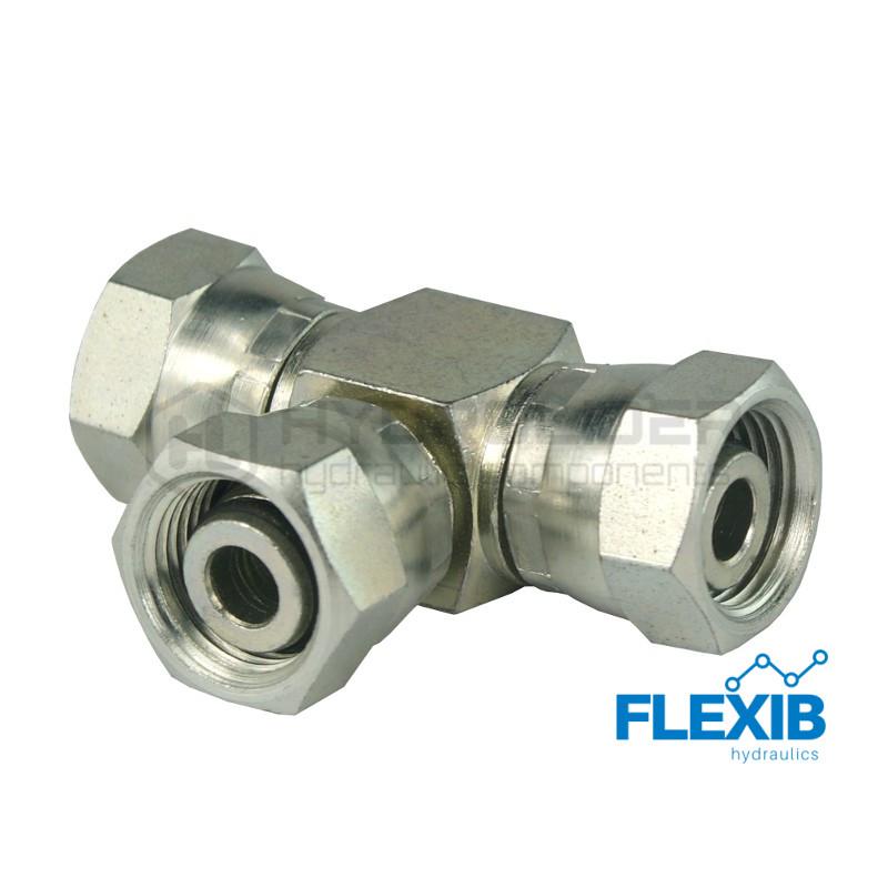 Hüdroühendus kolmik M16x1.5 Kolmik hüdraulika ühendused Hüdraulika tarvikud