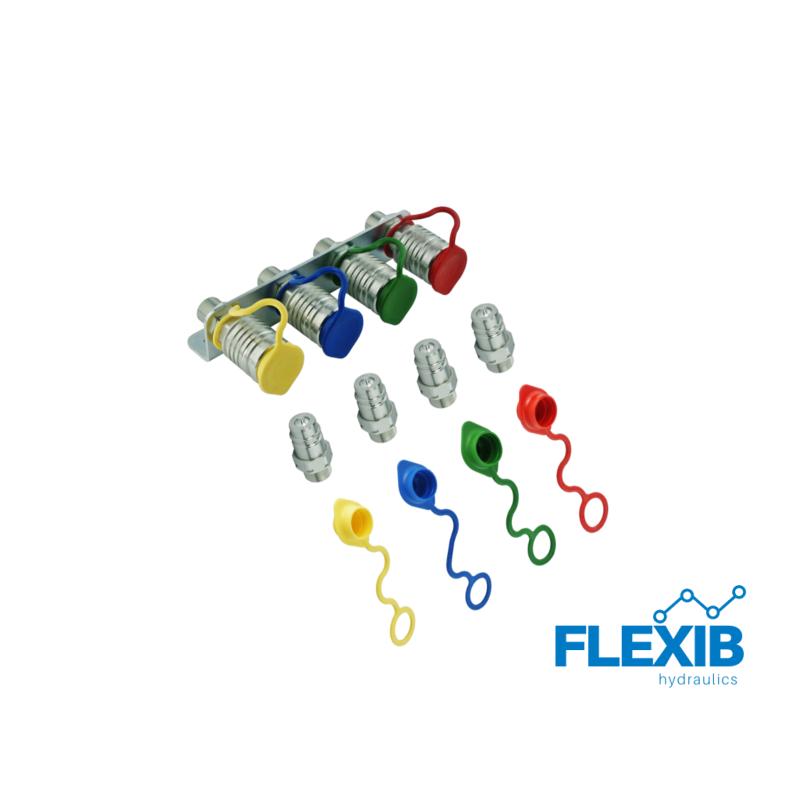 Hüdraulika kiirliitmikud EURO ISO  M18x1.5 Kiirliitmikud hüdrovoolikutele Hüdraulika tarvikud