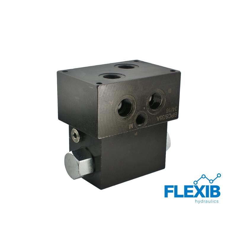 Automaatne suunajaventiil keermetele:  1/2  80L / min Maksimaalne rõhk: 210bar Hüdroklapid Hüdroklapid