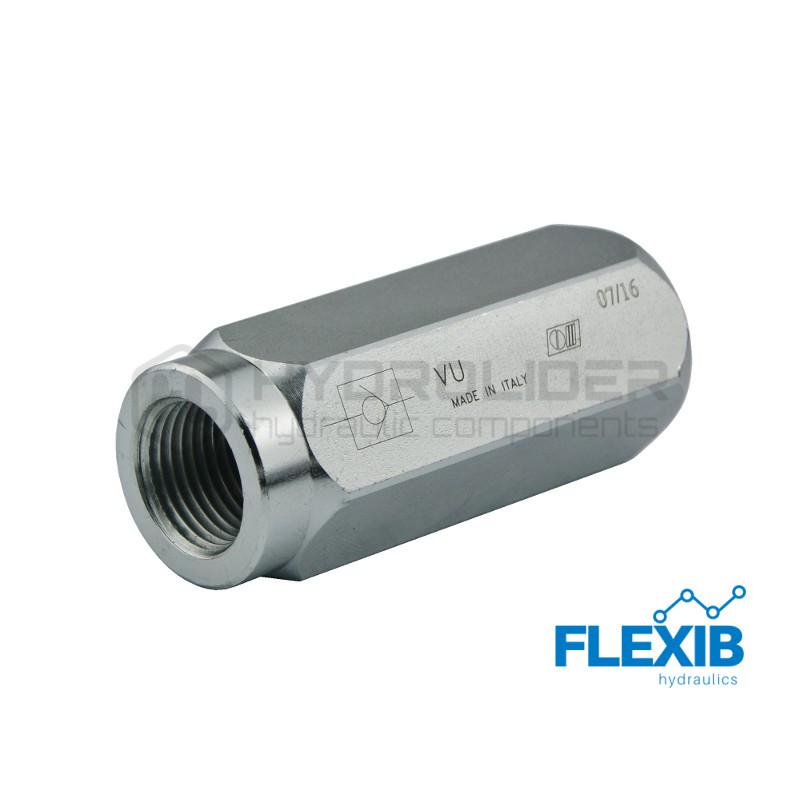 Klapp tagasivooluliin VU Keere: 2 ' 650L / min Maksimaalne rõhk: 300bar Suunaklapid Hüdroklapid