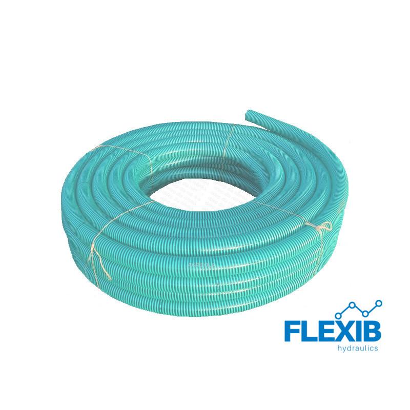 Voolik spiraal PVC 75mm läbimõõduga roheline Hüdraulika PVC Voolikud