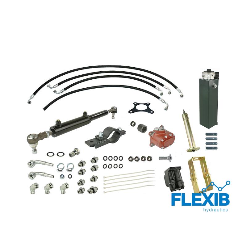 Roolivõimendi hüdrauliline Zetor 5011 hüdropaagi ja pumbaga Zetor 5211-7211 Hüdrauliline roolivõimendi