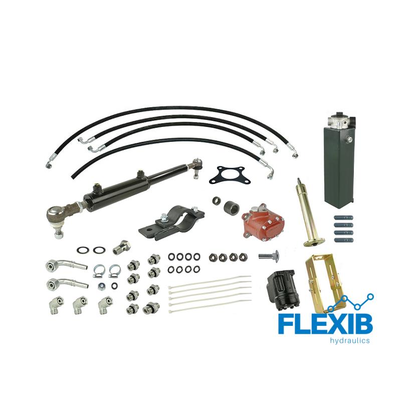 Roolivõimendi hüdrauliline Zetor 7011 hüdropaagi ja pumbaga Zetor 5211-7211 Hüdrauliline roolivõimendi