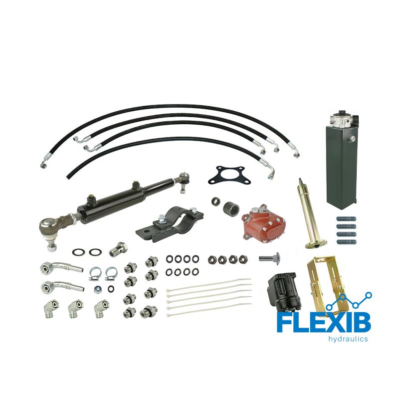 Roolivõimendi hüdrauliline Zetor 5011 – koos hüdropaagi, hüdropumba ja roolisambaga Zetor 5211-7211 Hüdrauliline roolivõimendi