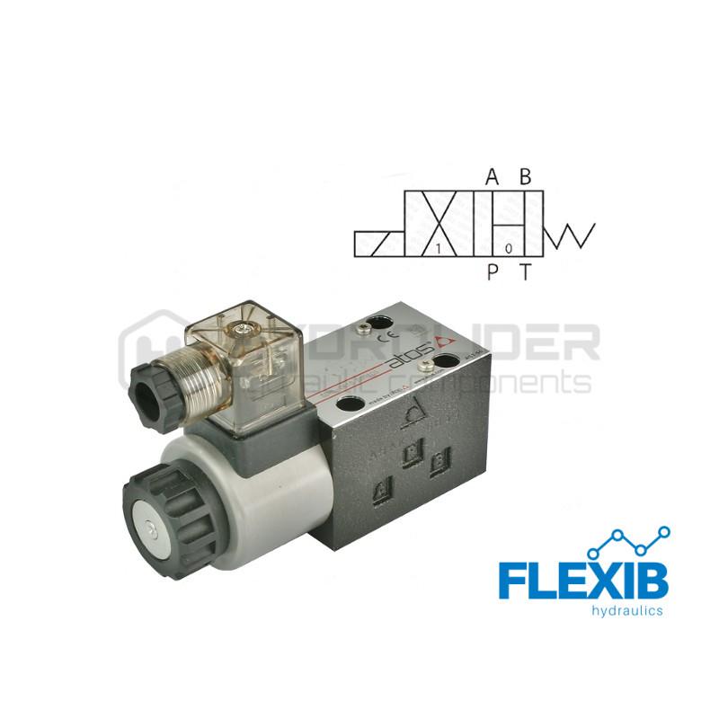ElektroKlapp kahesuunaline jagaja plokk 3 CETOP NG06 4WE6 liugur tüüp HA CETOP 3NG 6 CETOP 3NG 6