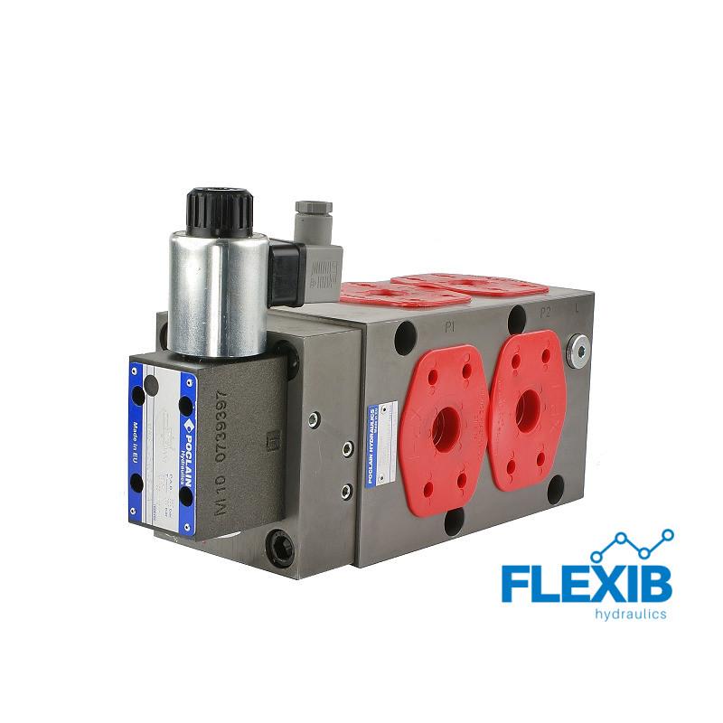 Hüdrojagaja 6/2 250L / min elektriliselt juhitav 12V 12V kuni 250L / min 12V kuni 250L / min
