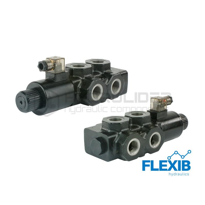 Hüdrojagaja 6/2 140L / min elektriliselt juhitav 12V 12V kuni 140L / min 12V kuni 140L / min