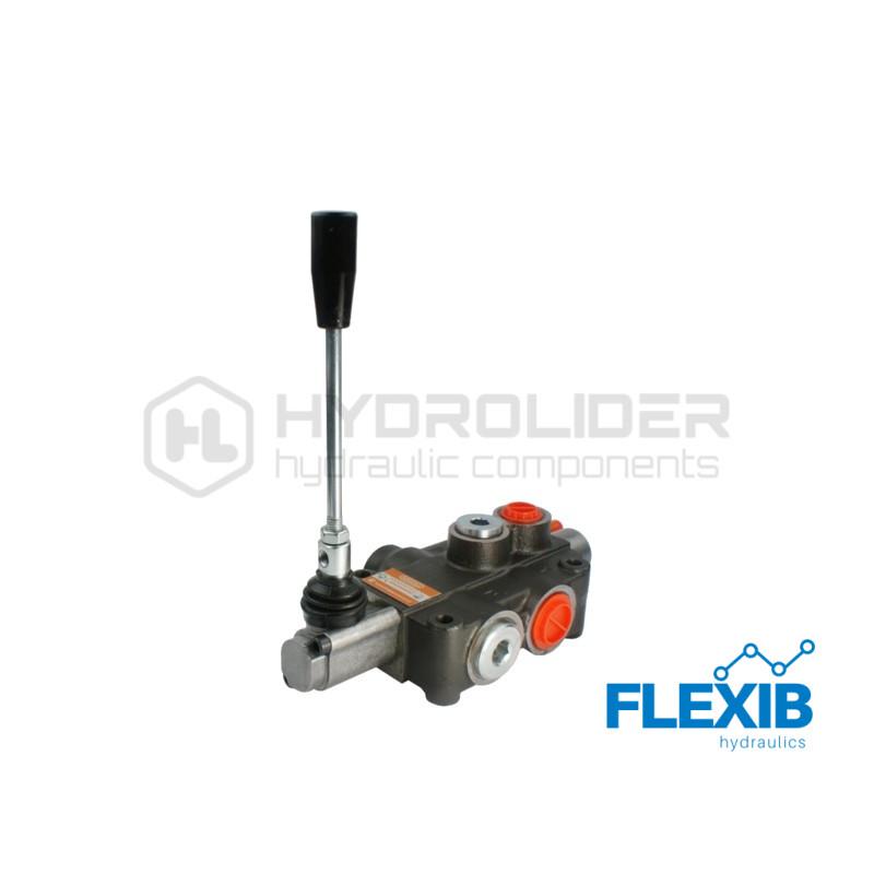 Ühe sektsiooniline jagaja 80L / min P80 C1 GKZ1 Hüdrojagajad kuni 80l/min Hüdrojagajad