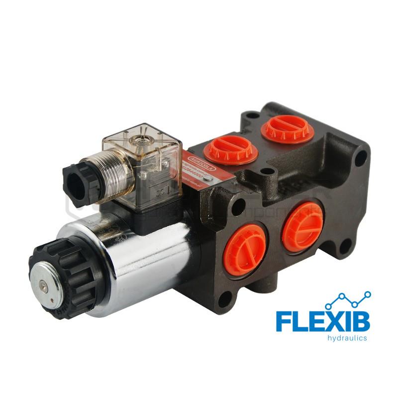 6/2 jagajat 50L / min elektriliselt juhitav 12V (ringselt) 12V kuni 50L / min 12V kuni 50L / min