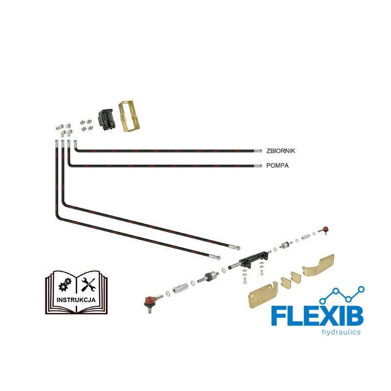 Roolivõimendi hüdrauliline Zetor 5211 – 7211 Dosaator Danfoss Zetor 5211-7211 Hüdrauliline roolivõimendi