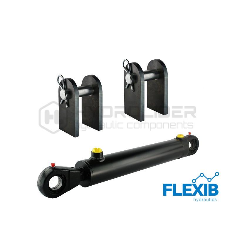 Hüdrosilinder 350mm: 90mm komplekt Hüdrosilindrid 63/36 Hüdrosilindrid