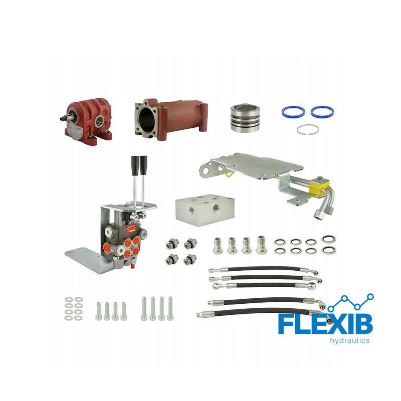 Hüdraulika komplekt jagaja 2 sektsiooni Traktorite ja rasketehnika hüdraulika Hüdraulika