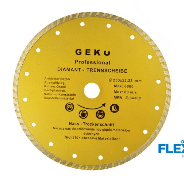 Teemantketas 230mm Geko PROFI Teemantkettad Geko PROFI