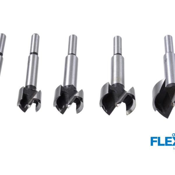 5-osaline puidufreeside komplekt 15-35 mm Puurid ja tarvikud 5-osaline puidufreeside komplekt 15-35 mm