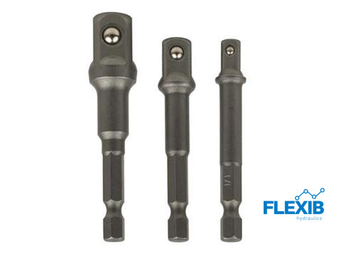 Padruni adapterite komplekt 3-osaline Puurid ja tarvikud Padruni adapterite komplekt 3-osaline