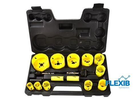 Bi-metall augufreeside komplekt 17-osaline Puurid ja tarvikud Bi-metall augufreeside komplekt 17-osaline