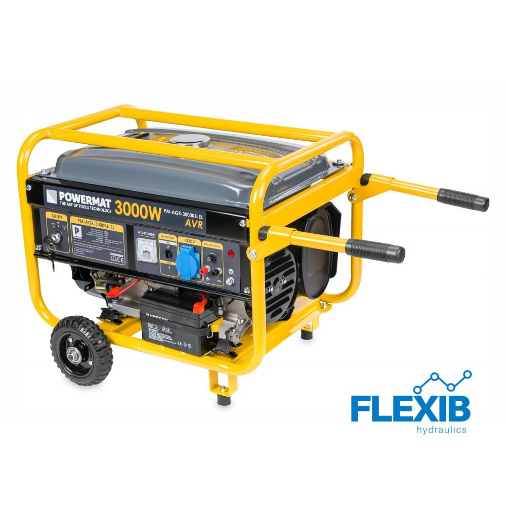 Starteriga generaator 3kW Generaatorid ja mootorid Generaatorid