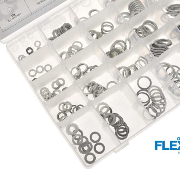 Alumiinium seibide komplekt 300-osa Tarvikute komplektid Alumiinium seibide komplekt