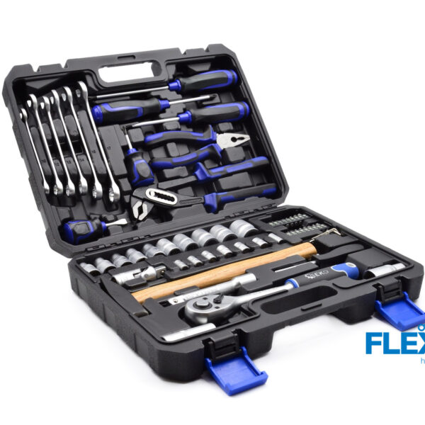 Tööriista komplekt 66 osa Võtmete komplektid Tööriista komplekt