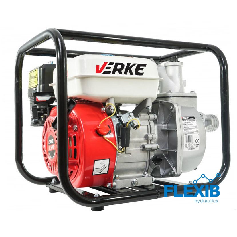 Veepump bensiinimootoriga 2″ VERKE Veepumbad Veepumbad bensiinimootoriga
