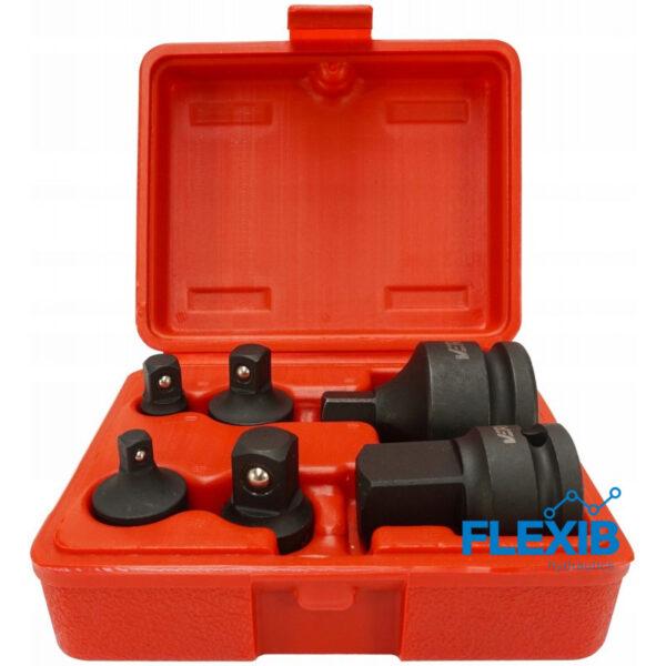 Padrunvõtmete adapterid 6-osa Autoremont Padrunvõtmete adapterid